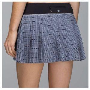 Lululemon Pleat to Street Skirt Skort